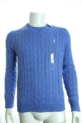 Bnwt Ralph Lauren Roving Cable Crewneck Sweater Jumpers Long Sleeve Sz M Rrp£110