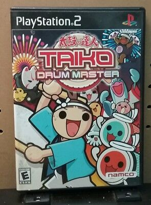 Taiko Drum Master (Sony PlayStation 2, 2004) PS2, Complete w/ Manual but no Drum