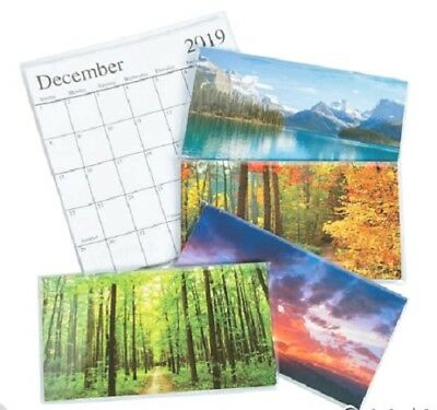 1 2019-2020 Pocket 2 Year Calendar Nature           *FREE SHIPPING with 6 items