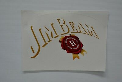 Jim Beam Bourbon Since 1795 Logo Brand New Clear Decal Sticker