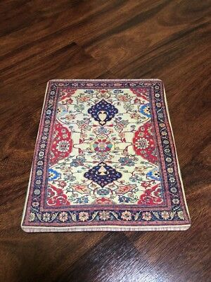 Persian Woven Rug Mouse Pad Indian Style Carpet Mouse Pad great gift Rare!!