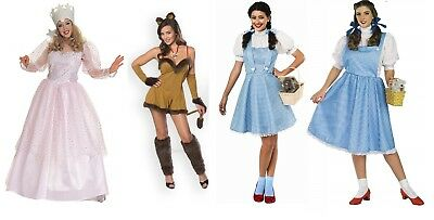 The Wizard Of Oz. Dorothy, Cowardly lioness & Glinda  women's Costume Rubies New