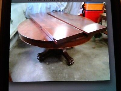 Antique dining table,walnut or mahogany table.