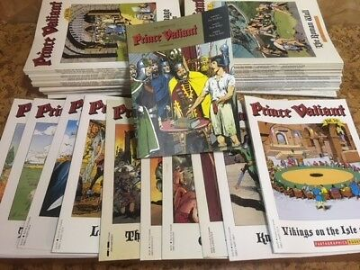 PRINCE VALIANT Complete set 1- 50 Oversize Softcovers by Fantagraphics 1987-2004