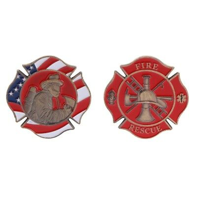 Commemorative Coin American Firefighting Mark Fire Collection Art Gifts Souvenir