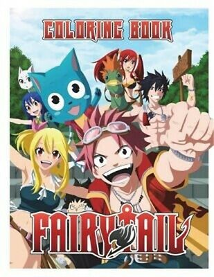 Fairy Tail Coloring Book (Paperback or Softback)