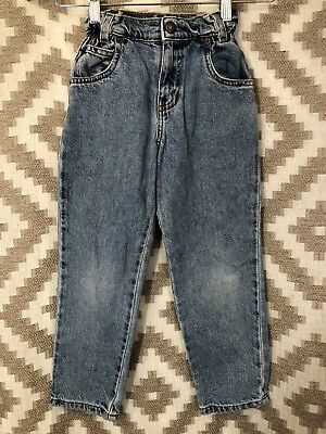Vintage Orange Tab Levi's Blue Jeans Kids Childrens Size 6