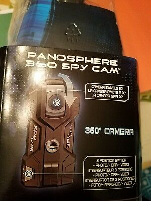 Panosphere 360 Spy Cam Spy Gear Secret Agent CSI Detective NCIS Christmas 8+ New
