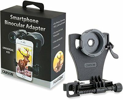 Carson HookUpz Universal Smartphone Digiscoping Adapter for Most Full Sized