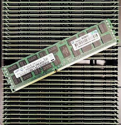 32GB Memory (4x8GB Dimms) PC3-10600R ECC DDR3-1333MHz for DELL HP IBM Lenovo
