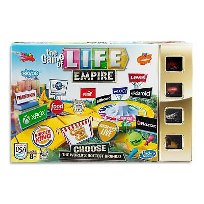 Games Of Life Empire - Hasbro Family Board Games - Kids Strategy Toys - Ages 8+