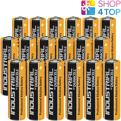 18 Duracell Aa Alkaline Lr6 Batteries 1.5V Industrial Mignon Mn1500 Am3 E91 New