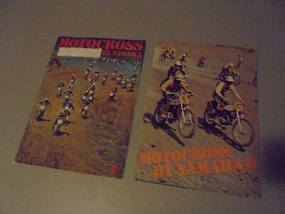 S Yamaha Vintage Lot Of  Motocross Brochures,lt-M.at-M,dt,rt,,at-Mxdt,rt,dirt Ra