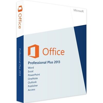 Microsoft Office Professional Plus 2013 - New - Full Version - Download