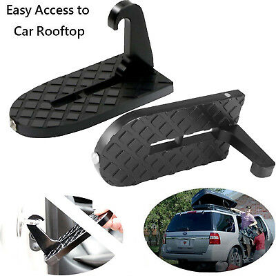 Access Roof Of Car doorStep Gives You Latch Step Easily Rooftop Vehicle Doorstep