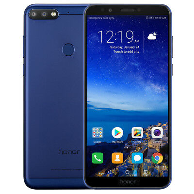 """Huawei Honor 7C 5.99"""" Android 8.0 32Go 4G Téléphone Face ID Octa-Core Smartphone"""