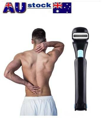 Men New Electric Back Hair Shaver Hair Cutter Remover DIY Easy Fast AU Stock
