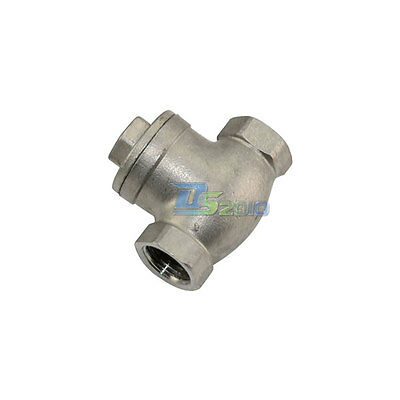 "1/2"" Stainless Steel Swing Check Valve WOG 200 PSI PN16 SS316 CF8M SUS316"