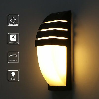 Modern LED Wall Light Waterproof Outdoor Exterior Home Hallway Decoration Lamps