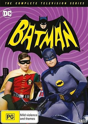Batman | The Complete Television Series DVD Box Set | 1966 - 1968  NEW & SEALED