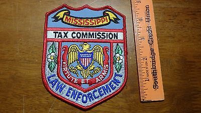 Vintage Mississippi Tax Commission Obsolete  Patch Bx 11# 32