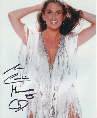 D800 Starred in James Bond Caroline Munro Photo Signed In Person