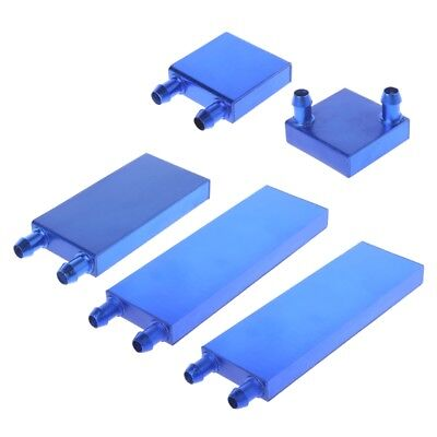 Aluminum Alloy Water Cooling Block For Liquid Cooler Silver System Heat Sink