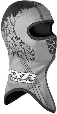 FXR Shredder Frostbite Black Block Balaclava Face Mask Snow Snowmobile - Large