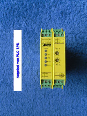 1x Phoenix Contact Safety-Relays PSR-SCP-24UC/ESD/4x1/1x2/600 Ord.No.: 2963789