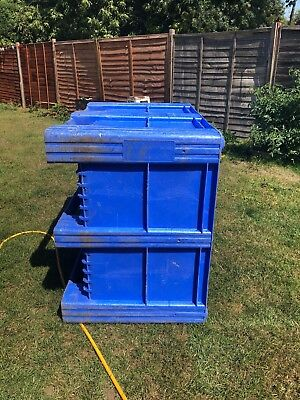 Pallet Box  - Big Box Dolav  - Heavy Duty Commercial Container 1200X1000X770Mm