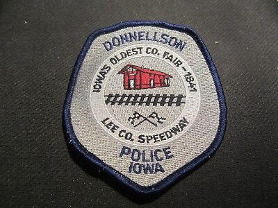 Donnellson Iowa Police  Patch