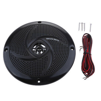 Boat Marine Waterproof Speaker Sound Auto Modified Horn Round Flush Fitting