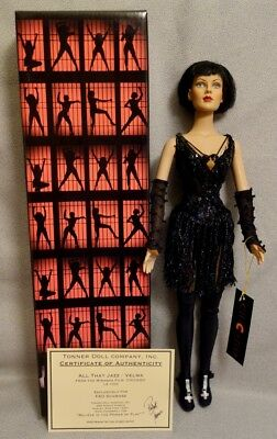 CHICAGO VELMA ALL THAT JAZZ - TONNER FAO Limited Edition - SIGNED COA - MINT