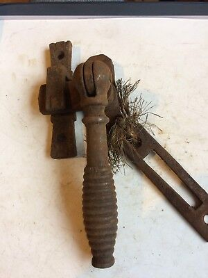 Vintage Cast Iron Window Stay/lock (could also be used as door latch)