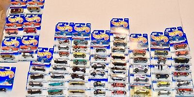 Hot Wheels Auction! 60 Sealed Vintage 1998 First Editions Collection - Lt Ed