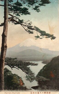 Mount Fuji From Shoji Lake   Japan