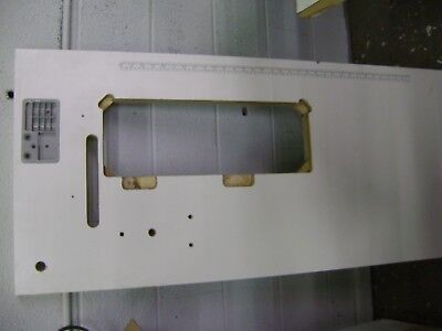 """Laminated Industrial Sewing Machine Table Top With 7-1/8"""" X 18-15/16"""" Hole"""