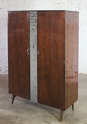 Mid Century Modern Tola Wardrobe by Alphons Loebenstein for Meredew Design '62