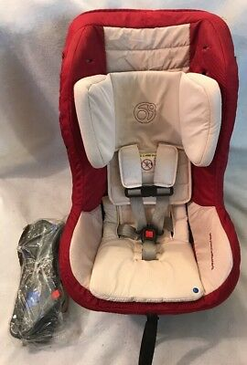 Orbit Baby G3 Toddler Car Seat Ruby Red W Brackets Exp 2021 VHTF Color