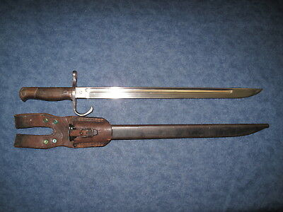 Japanese Ww2 Bayonet With Scabbard And Frog