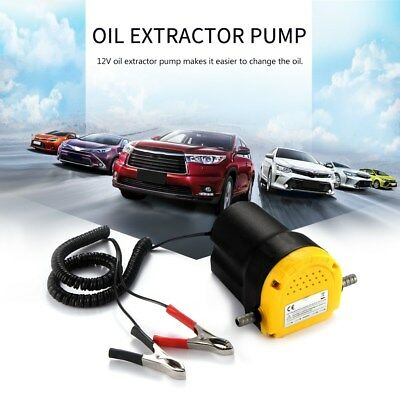 12V Car Motor Oil Fuel Fluid Extractor Electric Siphon Transfer Change Pump US