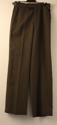 SMALL, ORIGINAL VINTAGE MENS 1970s FLAIRED PANTS.UNISEX.