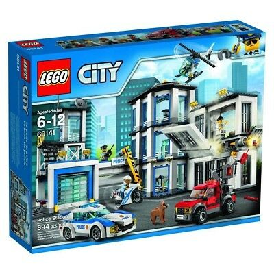 Lego City Police Station 60141 100 Complete With Original Box And