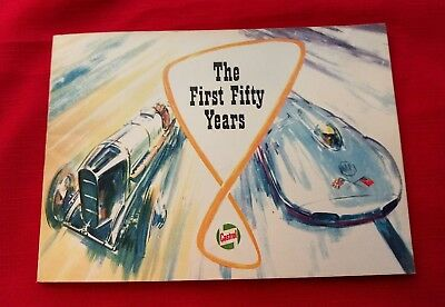 Castrol The First Fifty Years of Golden Achievement 1909-1959