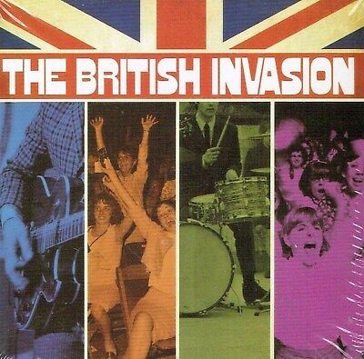 The British Invasion 8 CD+1 DVD Time Life Box Set New & Sealed US Made/Shipped