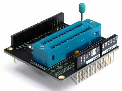 ZIF Socket Shield V2 Programming Adapter for Arduino UNO R3 Atmega328P     #2617