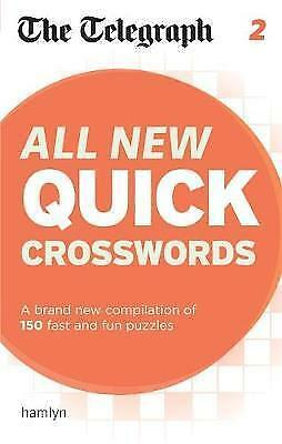 The Telegraph: All New Quick Crosswords 2 by The Telegraph (Paperback,2012) (NF6