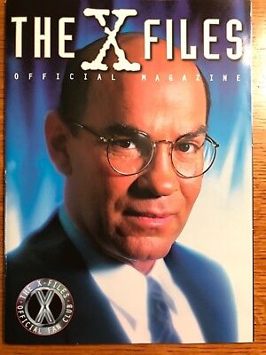 """Official """"X-FILES"""" Magazine #6 Fan Club EXCLUSIVE 1997 SKINNER Cover NEW"""