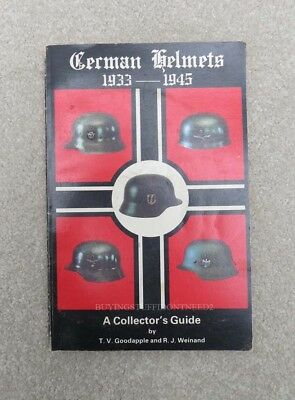 Original German Helmets 1933-1945 A Collectors Guide Book Vol 1 Hard To Find