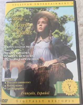 Anne of Green Gables (DVD, 2003)